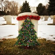 Christmas Tree, Veterans' Cemetery, 2015