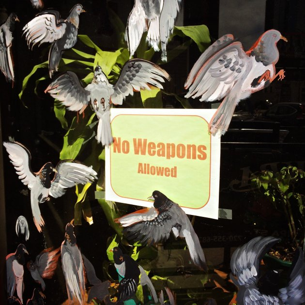 No Weapons Allowed